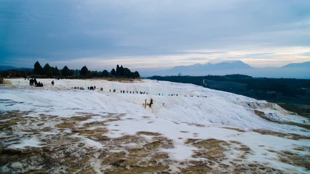 The 7 Best Places For Photography In Turkey: Istanbul, Cappadocia & Pamukkale-Capture Moments while paragliding in Pamukkale
